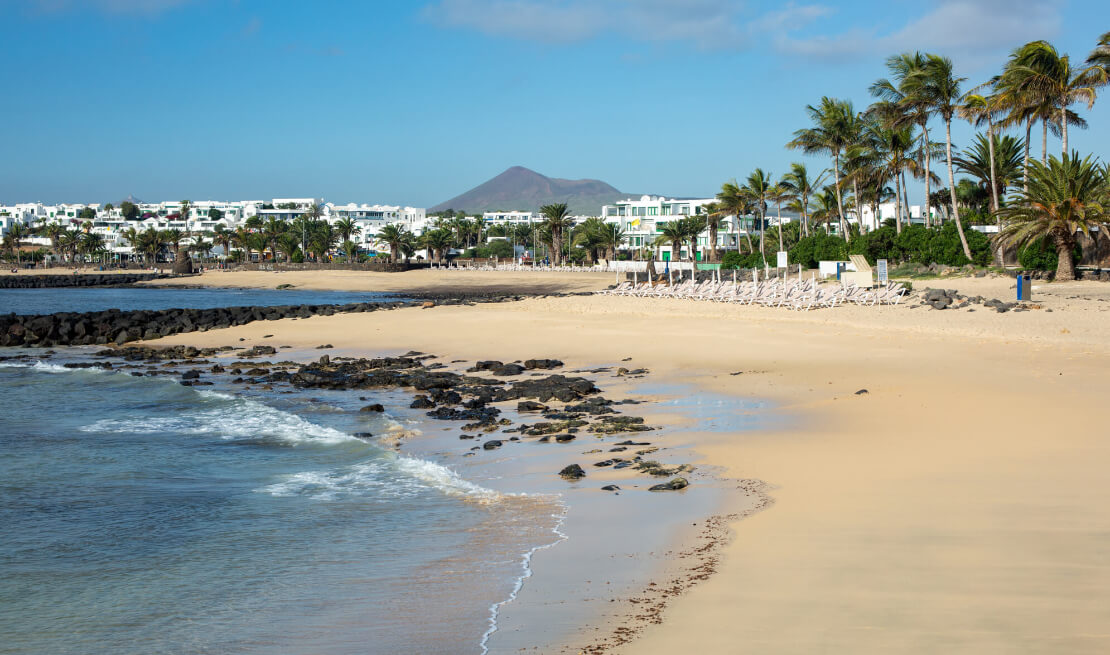 Informationen über Lanzarote. Costa Teguise