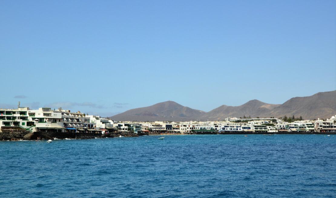 Informationen über Lanzarote. Playa Blanca