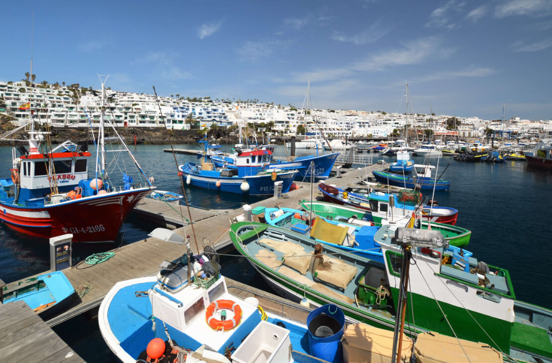 Informationen über Lanzarote. Puerto del Carmen